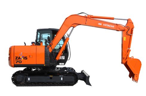 原装日立ZX70-5G(带推土板)挖掘机