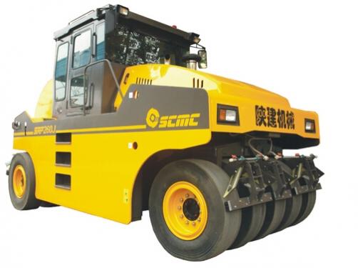 陕建机SRP260J轮胎压路机