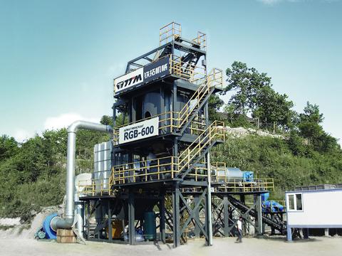 铁拓机械RGB-600沥青全再生设备