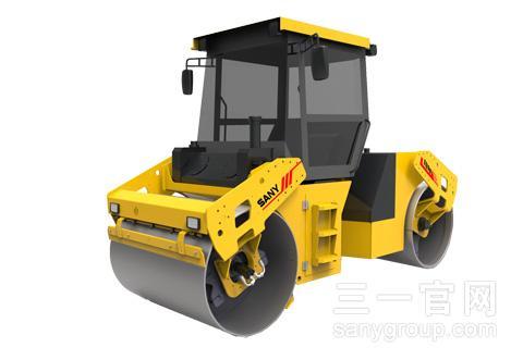 三一重工STR90-5双钢轮压路机