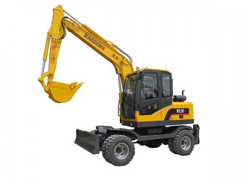宝鼎WYL90-7轮式挖掘机