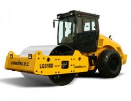 龙工LG518D全液压单钢轮振动压路机