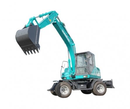 山河智能SWE220W轮式挖掘机