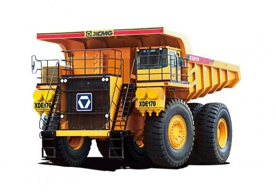 徐工XDE170电传动自卸车