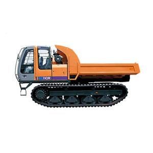 日立EG110R橡胶履带车