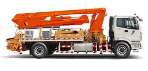 雷萨重机22米泵车