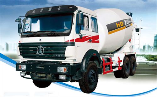 唐鸿重工XT5250GJBND41J北奔系列搅拌运输车