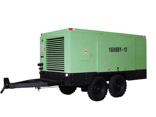 志高160SDY-8电动移动螺杆机