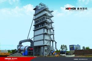 鑫海HLB-3000型沥青搅拌设备