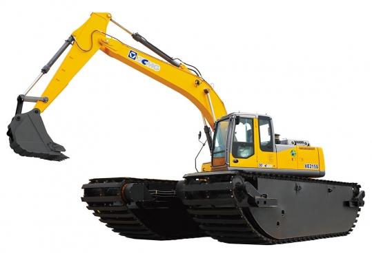 徐工XE215S水陆两用挖掘机