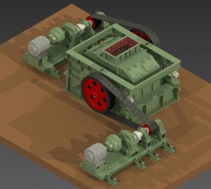 山宝2PGL-950×1200单缸液压圆锥破碎机