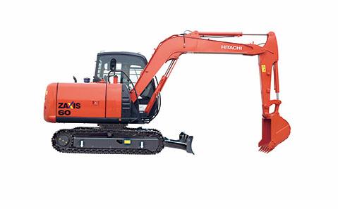 日立ZX60-5G挖掘机
