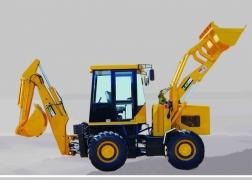 隆怡德WZ30-25挖掘装载机