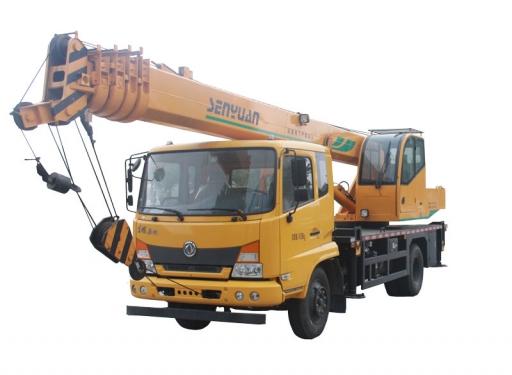 森源重工12吨汽车起重机