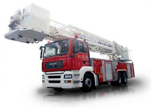 中联重科ZLJ5300JXFYT32型多功能云消防车