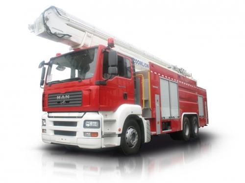 中联重科ZLJ5300JXFJP32型举高喷射消防车