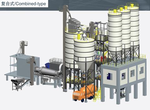 铁拓机械GHX(F)复合式干混砂浆搅拌站