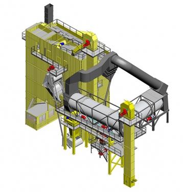 林泰阁HRC双滚筒热再生系统