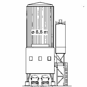 利勃海尔Betomat IV混凝土搅拌站