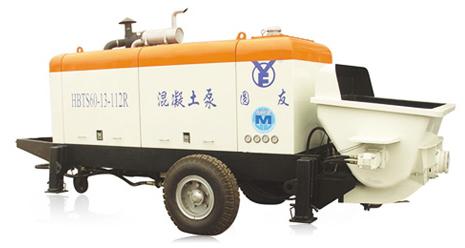 圆友重工HBTS60R混凝土柴油机输送泵