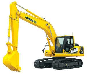 小松HB205-1液压挖掘机