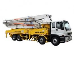 山推51m臂架泵车系列HJC5421THB-51/HJC5391THB-51/HJC5410THB-51泵车