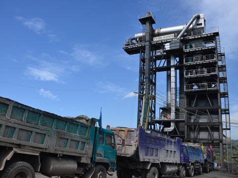 铁拓机械TS2015沥青混合料热再生设备