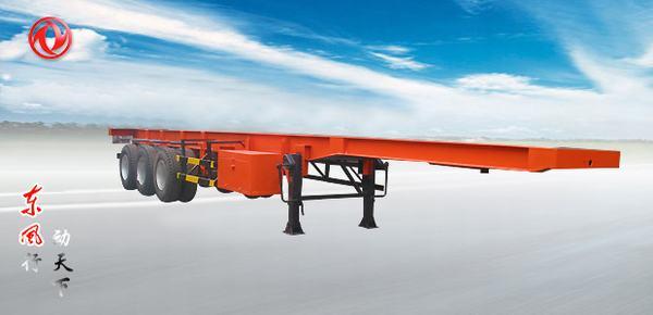 东风三轴集装箱运输半挂车