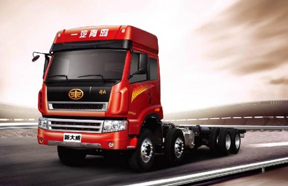 青岛解放新大威国Ⅳ 8×4载货车(复合型)