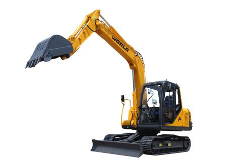 沃得W285B-8液压挖掘机