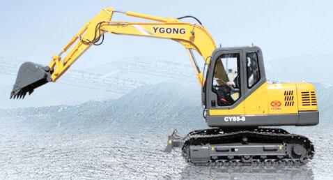 宜工CY85-8履带挖掘机