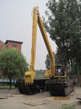 中车340型两栖挖掘机