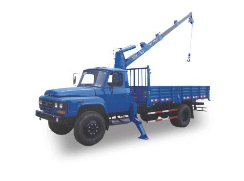 湖南飞涛3TC 3.2吨直臂3节随车起重机