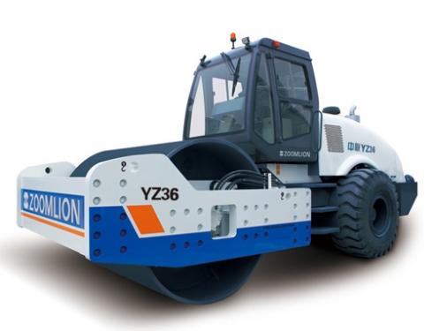 中联重科YZ27全液压双驱单钢轮压路机