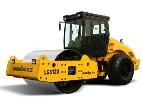 龙工LG512D全液压单钢轮振动压路机
