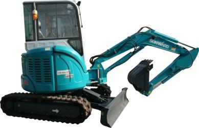 山河智能SWE40U小型挖掘机