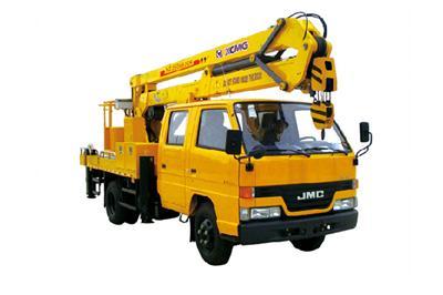 徐工XZJ5066JGKA4(14米)折叠臂高空作业车