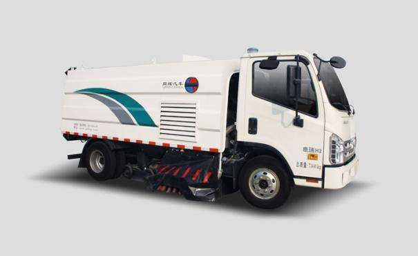 同辉汽车QTH5071TSLA4.5方福田底盘干式脉冲扫路车