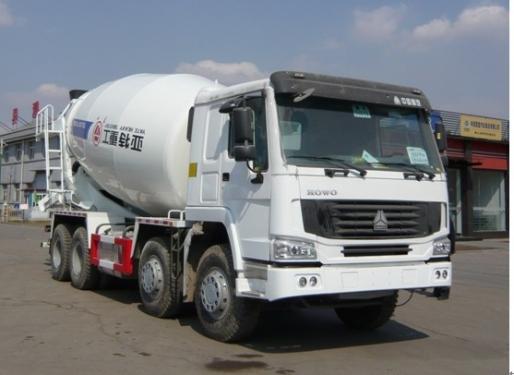 亚特重工TZ5257GJBZE3豪泺14立方混凝土搅拌车