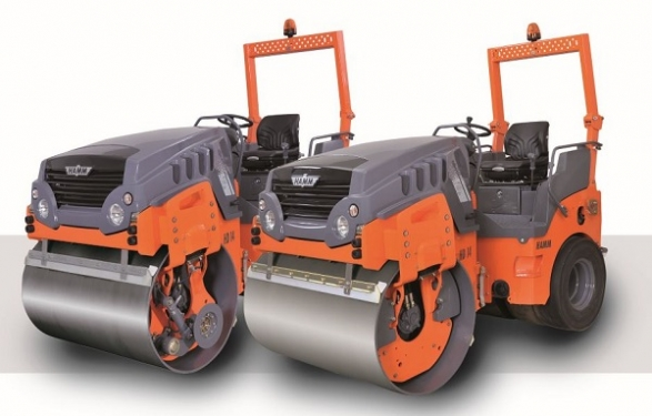 悍马HD 14 VT 小型串连式压路机