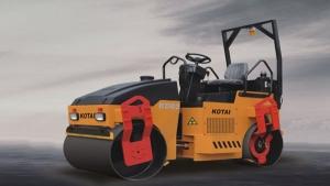 科泰重工KD03HDZ双钢轮压路机