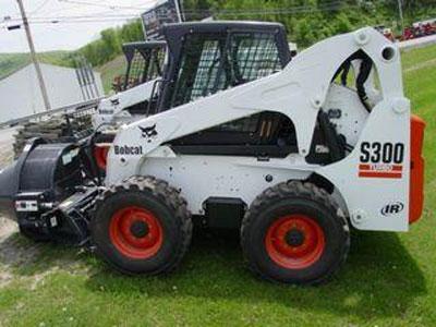 山猫S300滑移装载机