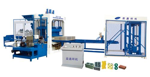 益鑫QT12-15型砖机
