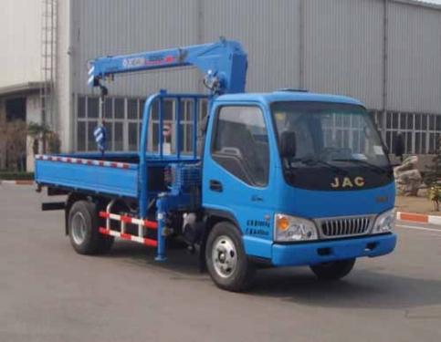 楚飞徐工牌XZJ5070JSQH4型随车起重运输车