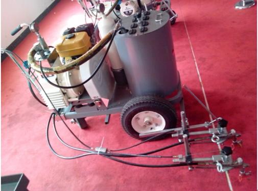天骏机械TT-SCP85手推常温标线机