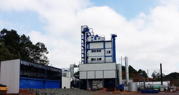亚龙筑机HXB3000H城市环保沥青混合料搅拌设备