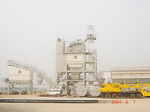 路达HQB5000型系列强制式沥青混凝土搅拌设备
