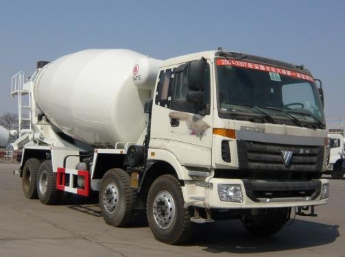 亚特重工TZ5250GJBLC4乘龙 12立方混凝土搅拌车