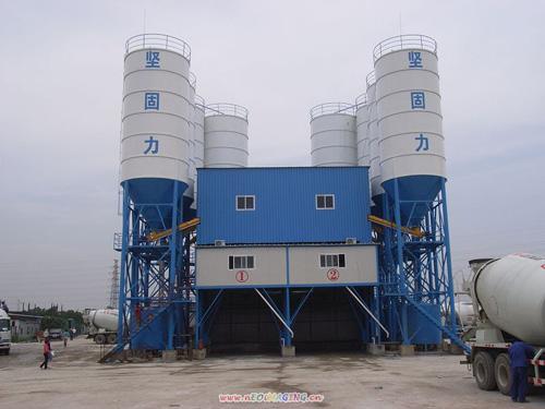 中建机械快装免基础混凝土搅拌站180m3混凝土搅拌站