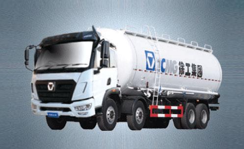 徐工KLW438T平台8X4专用车-粉罐车